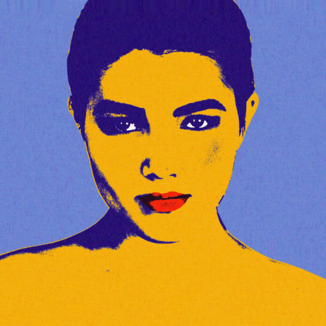 Realistic pop-art by Andy Warhol in Gimp